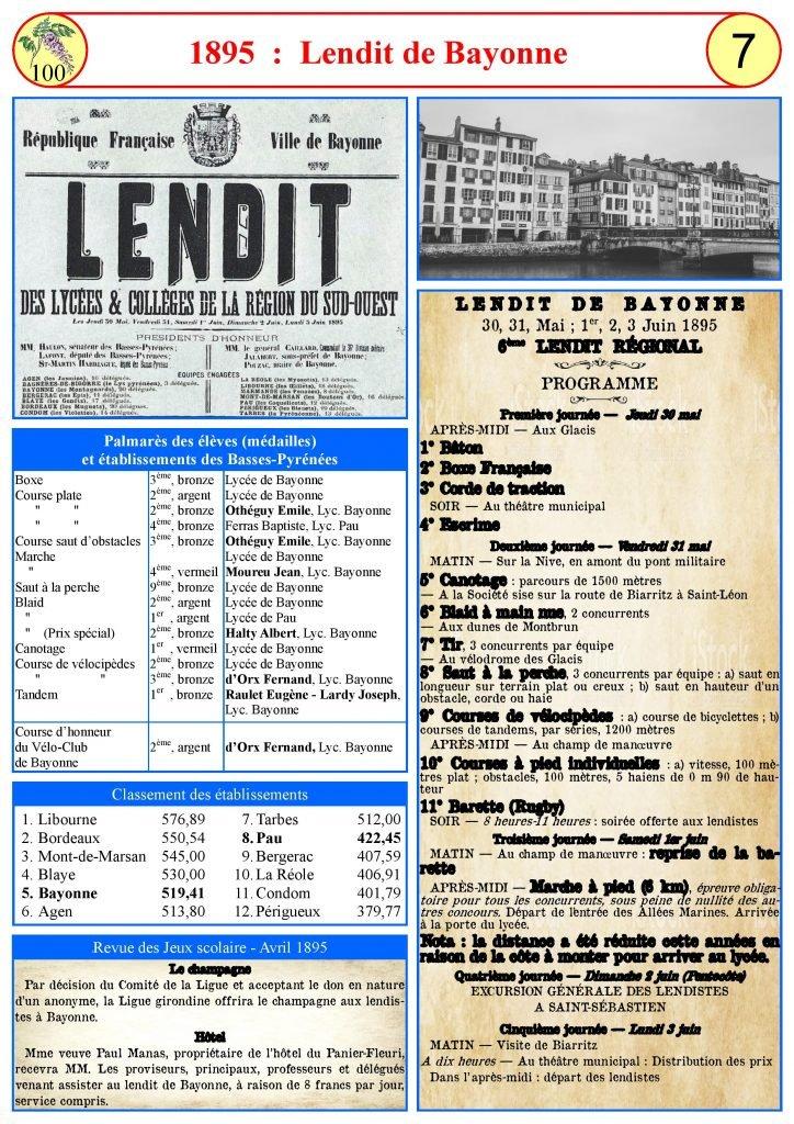 1895-Lendite de Bayonne