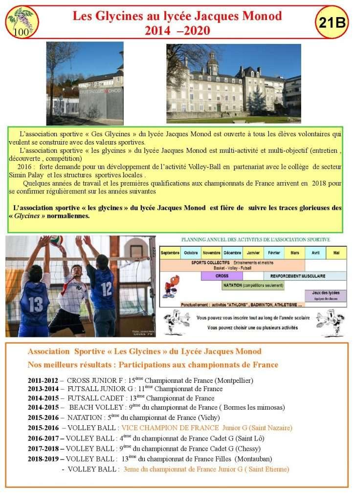 Les Glycines au Lycée Monod 2