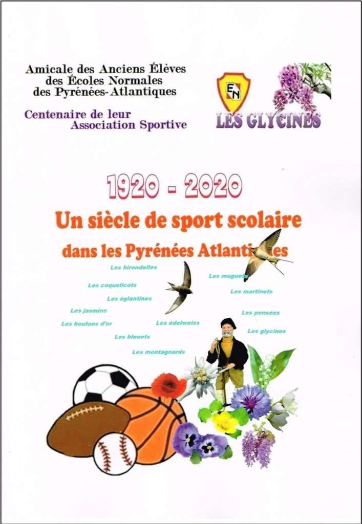 Brochure du centenaire des Glycines