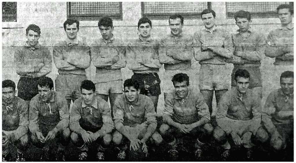 Rugby équipe 1962